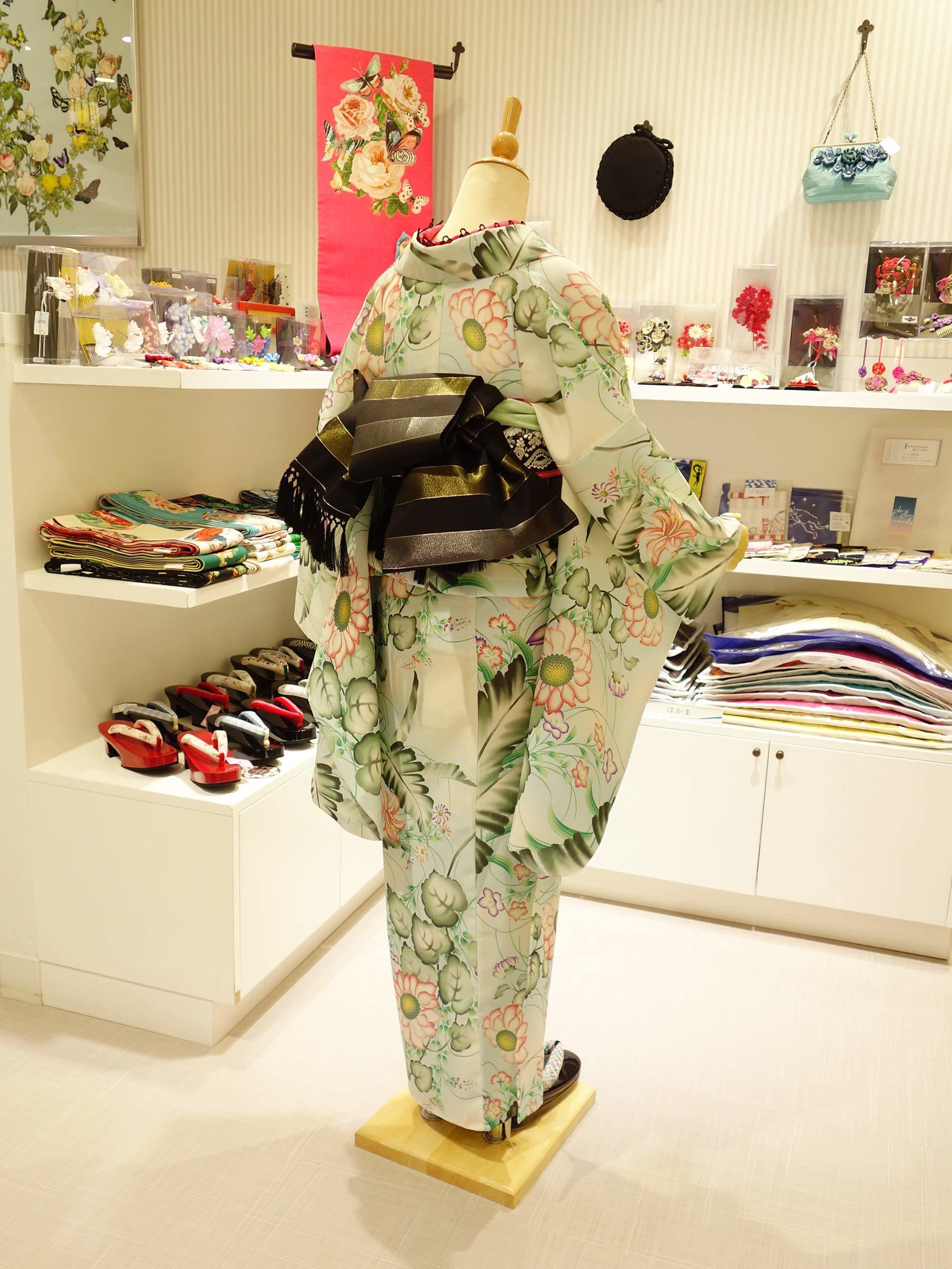 浴衣「夏霞」×単衣博多織帯「ひとへこえ」コーディネイト_e0167832_15412908.jpg