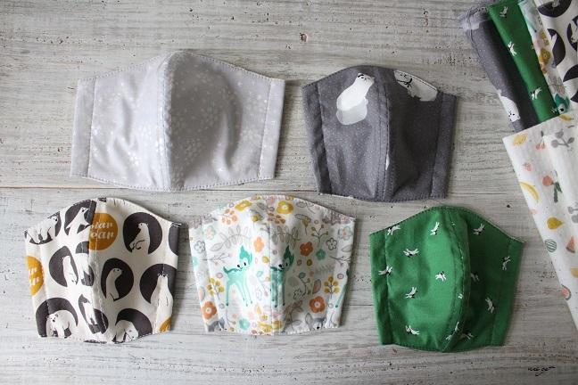 子ども用立体マスクにデコレクションズさんの『竹布抗菌防臭ニット』で試作♪_f0023333_22005602.jpg