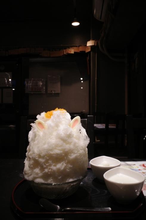 雪うさぎ 東京都世田谷区駒沢/かき氷_a0287336_12583687.jpg