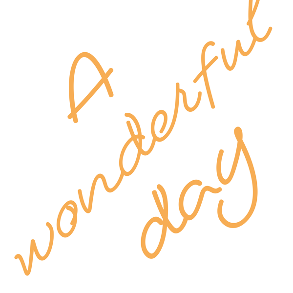 A wonderful day / Digital Limited single_f0231148_11583288.png