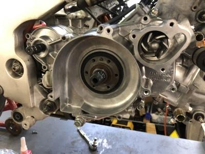 NSR MC21 焼き付き修理 ⑥_e0114857_20591214.jpg