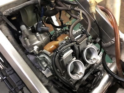 NSR MC21 焼き付き修理 ⑥_e0114857_21100581.jpg