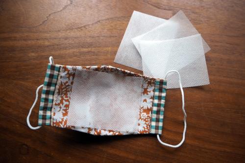 「eco bag & mask set」製作中!_e0243765_11082374.jpg