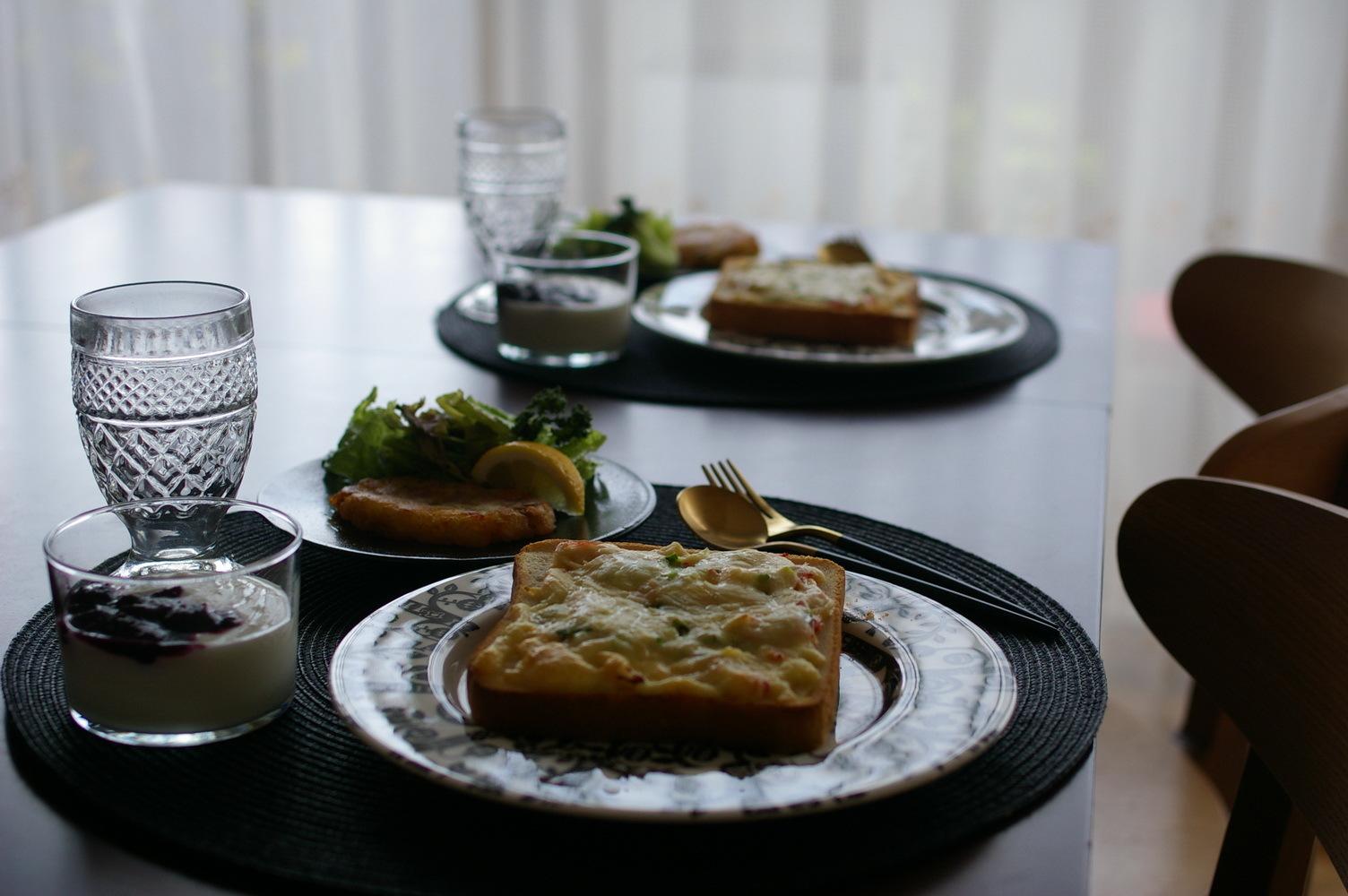 冷凍ピザパンと手作りハッシュドポテト_d0327373_10374378.jpg