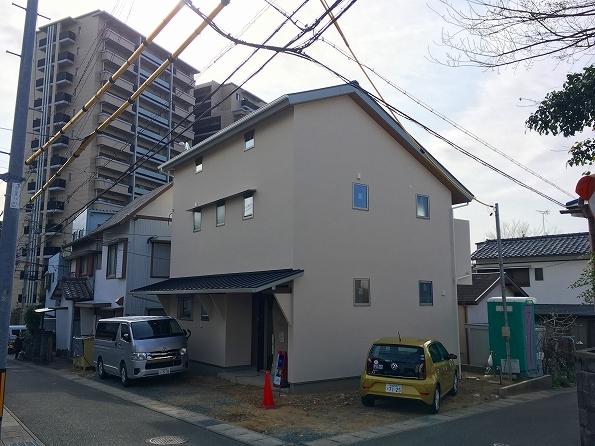 中山 2階リビング都市型スタイルの家 ★内装工事_d0205883_09135867.jpg