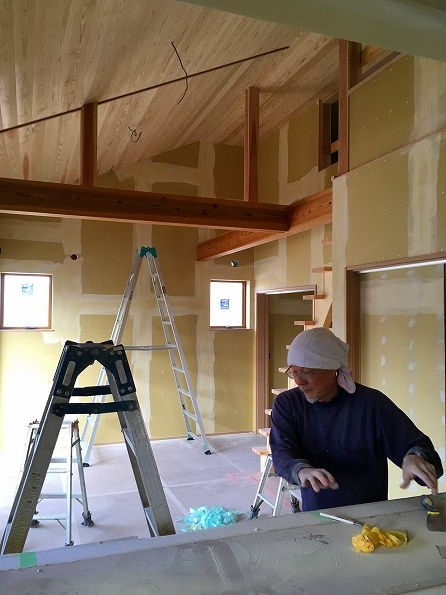 中山 2階リビング都市型スタイルの家 ★内装工事_d0205883_09140627.jpg