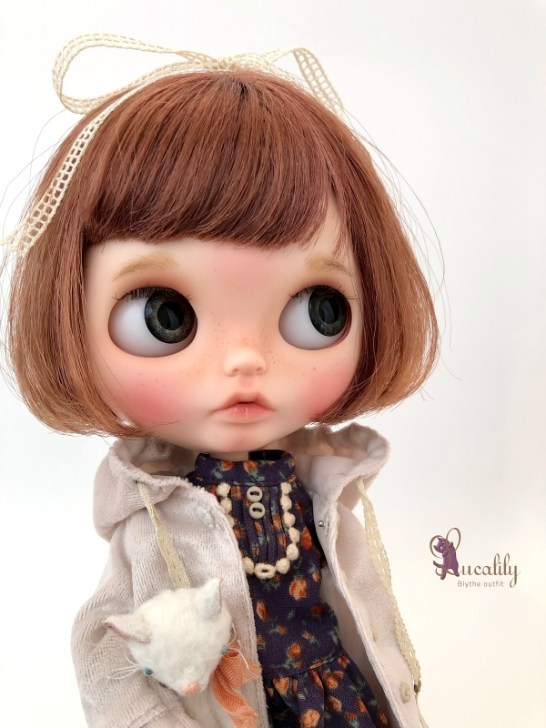 *lucalily * dolls clothes* Hooded Jacket set *_d0217189_20475242.jpg