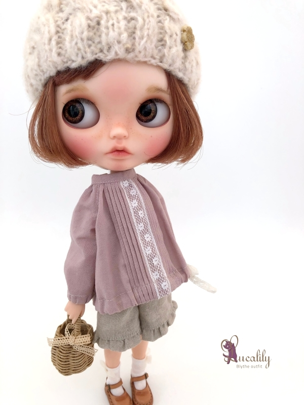 *lucalily * dolls clothes* Hooded Jacket set *_d0217189_20480211.jpg
