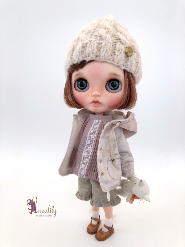 *lucalily * dolls clothes* Hooded Jacket set *_d0217189_20480437.jpg