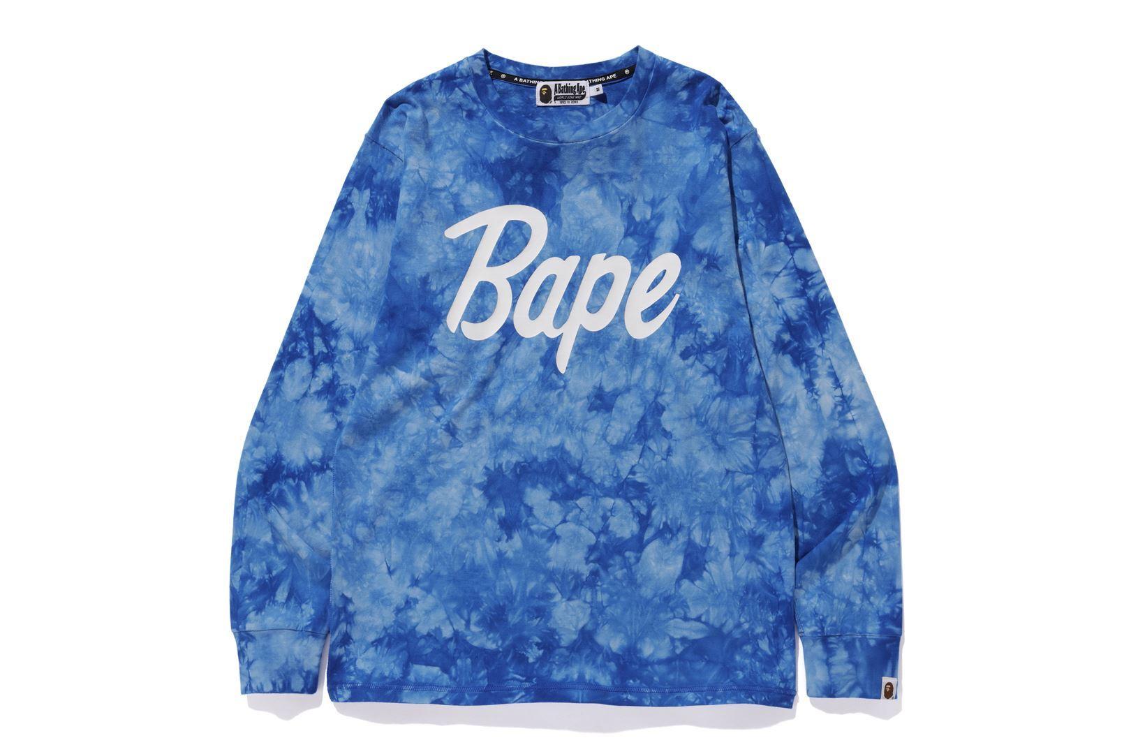 BAPE® TIE DYE L/S TEE_a0174495_17050351.jpg