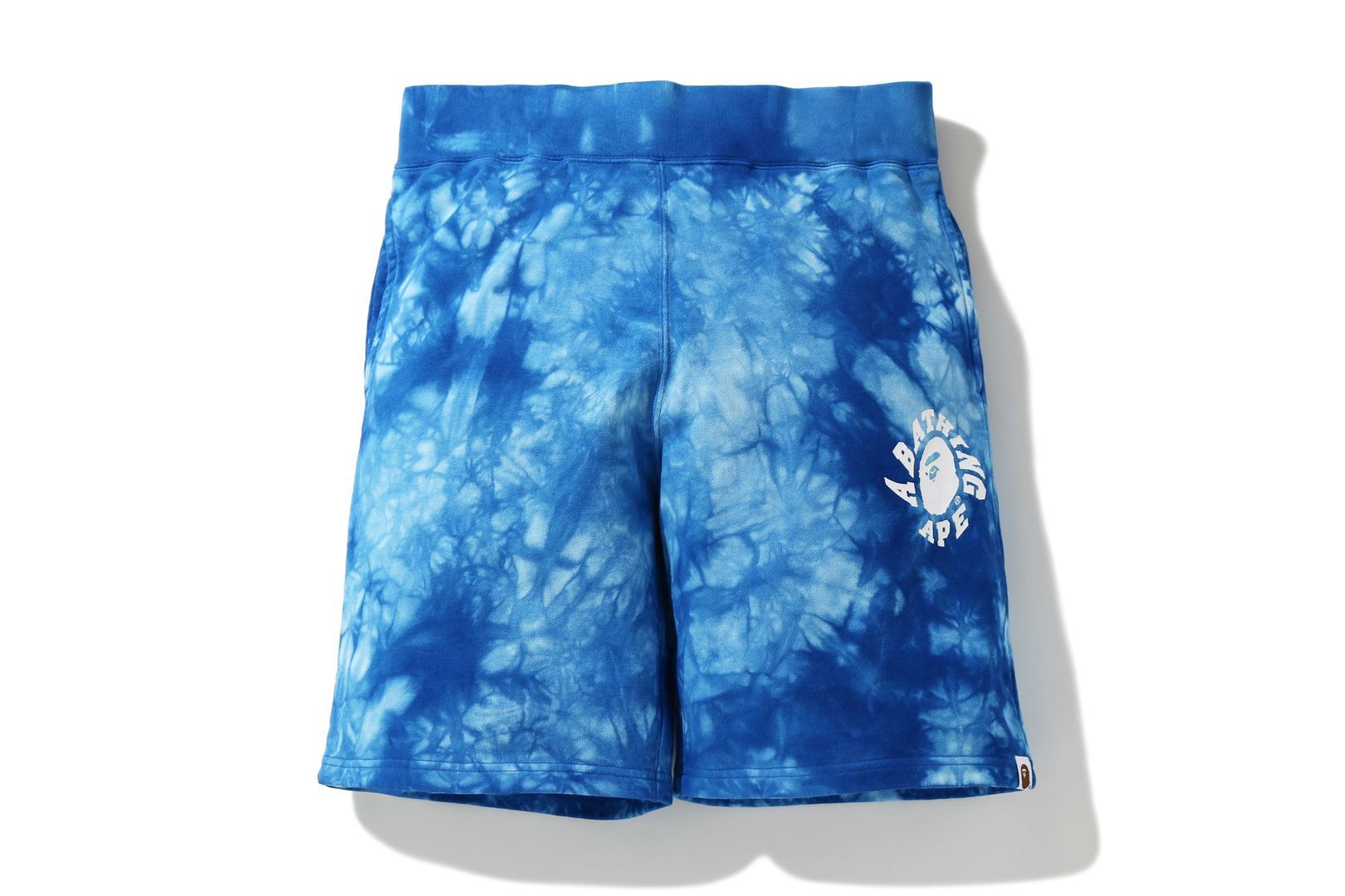 TIE DYE SWEAT SHORTS_a0174495_17122610.jpg