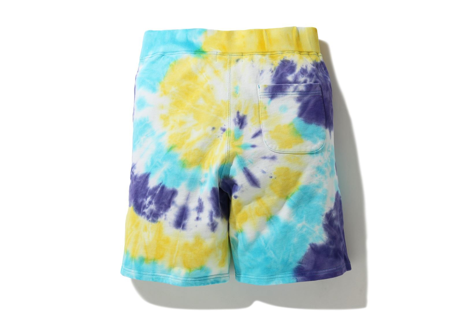 TIE DYE SWEAT SHORTS_a0174495_17130508.jpg