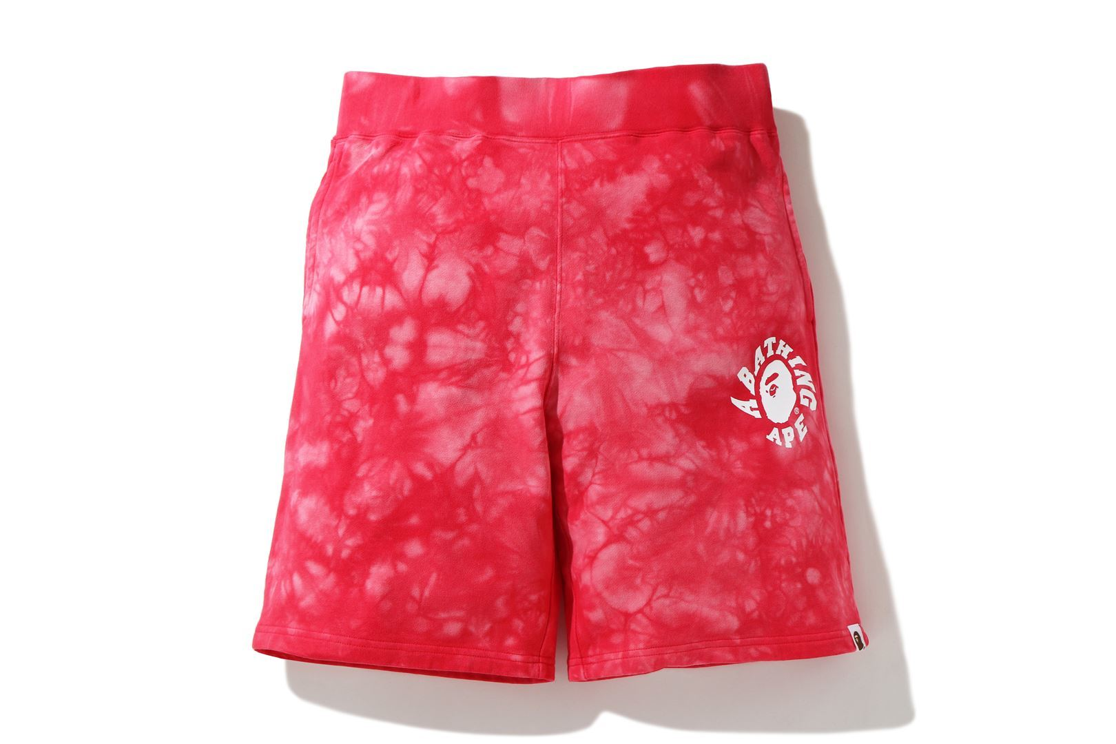 TIE DYE SWEAT SHORTS_a0174495_17132423.jpg