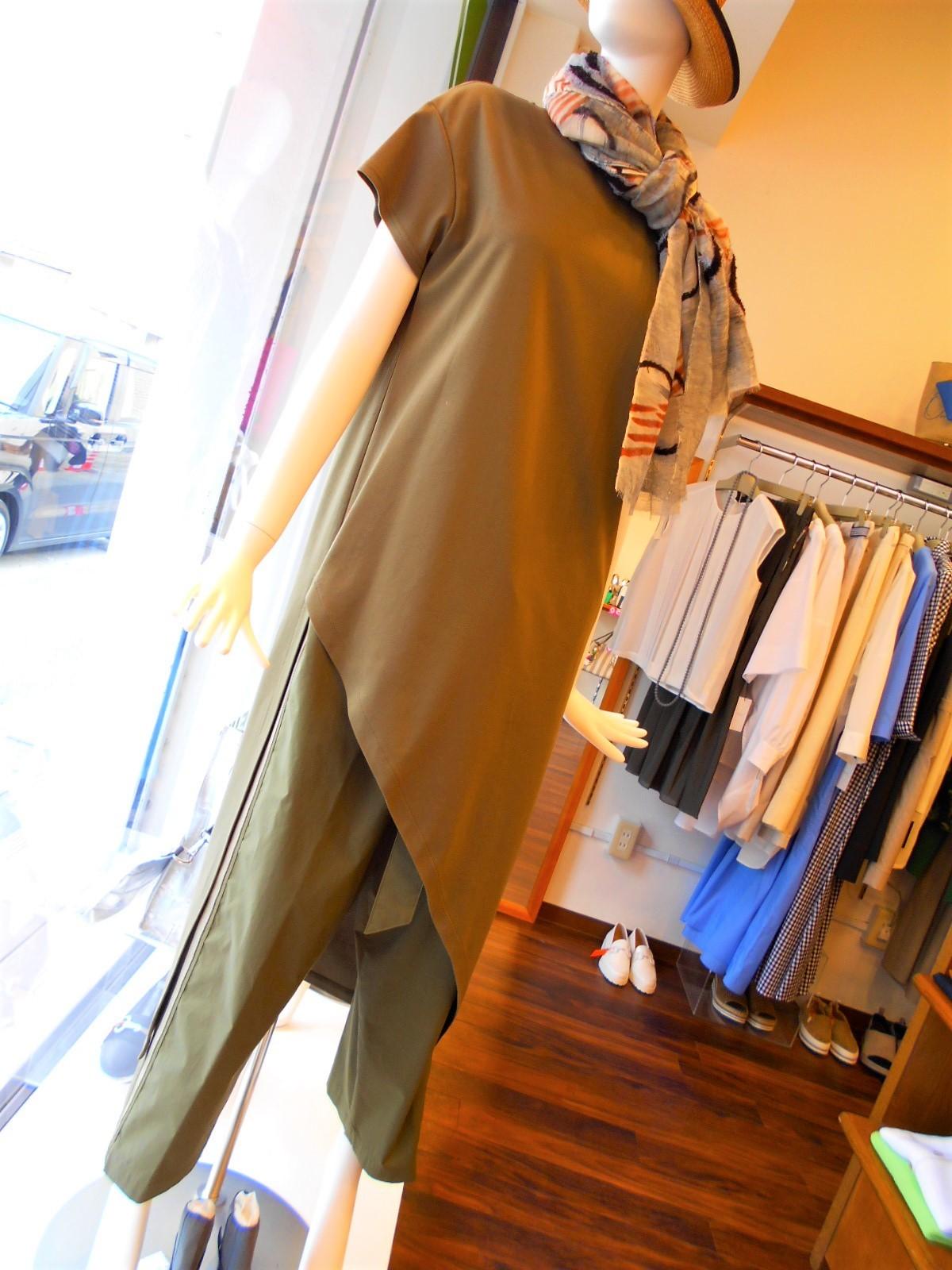 ロングTシャツ&ワイドパンツ・・・・☆_c0113499_15205085.jpg