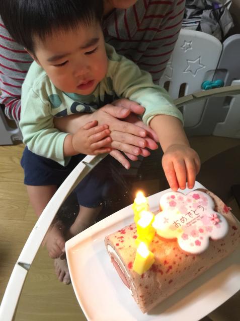 パパの誕生日だったんだ。_b0151911_21532242.jpg