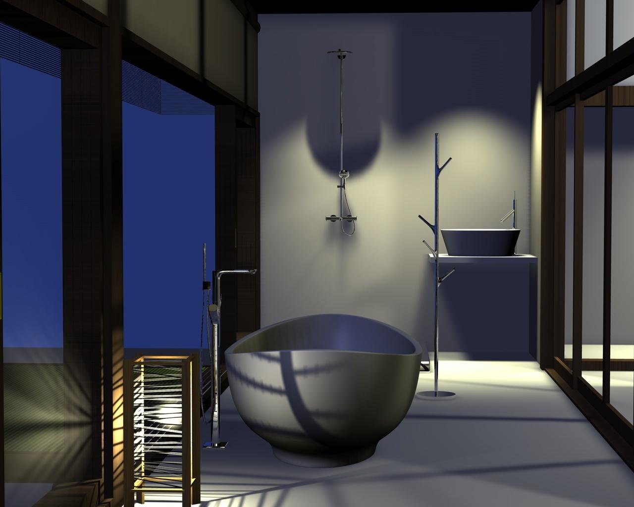 アンビルドシリーズ12 縁側で入浴_d0057215_17273266.jpg