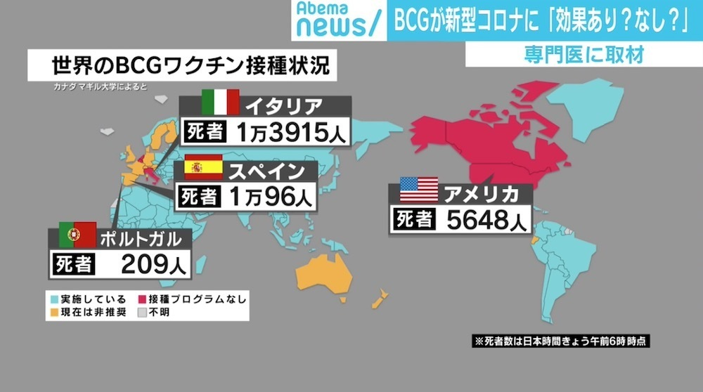 BCG接種国のコロナウイルスの死亡率について_c0141933_00420706.jpg