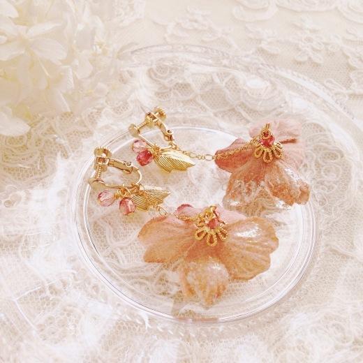 web shop* 2020年 春の新作 さくらアクセサリー_e0073946_09035515.jpg