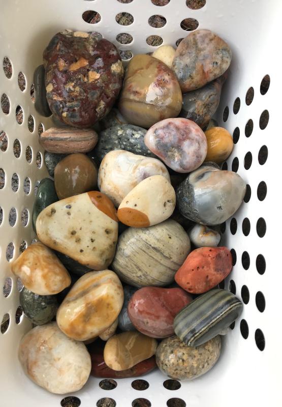 【海で拾った石】 2020年石拾い始め_f0169147_16512535.jpg