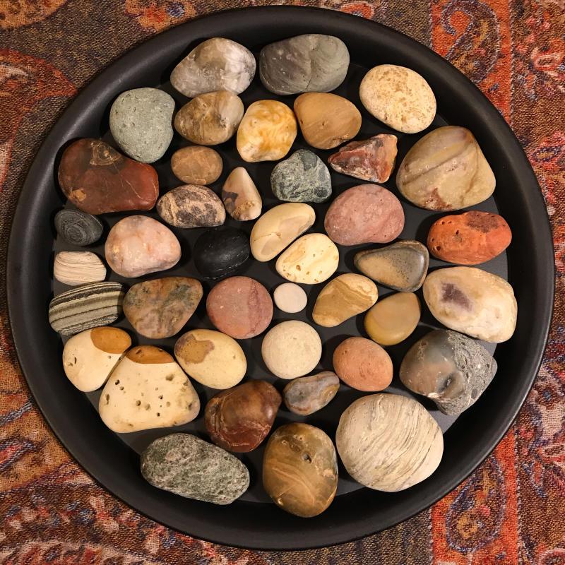 【海で拾った石】 2020年石拾い始め_f0169147_16512810.jpg