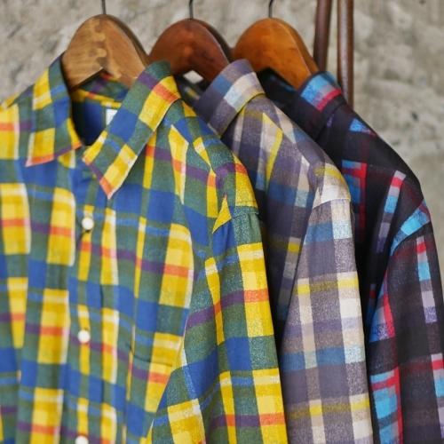 KATO\' \'\' Retchiri \'\' Regular Collar Shirts & Geometric Open Collar Shirts_e0247148_15581346.jpg
