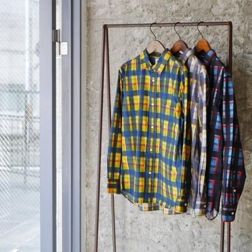 KATO\' \'\' Retchiri \'\' Regular Collar Shirts & Geometric Open Collar Shirts_e0247148_15581414.jpg