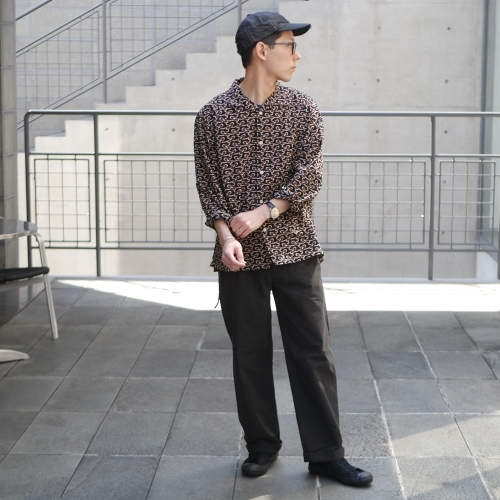 KATO\' \'\' Retchiri \'\' Regular Collar Shirts & Geometric Open Collar Shirts_e0247148_15581551.jpg