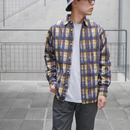 KATO\' \'\' Retchiri \'\' Regular Collar Shirts & Geometric Open Collar Shirts_e0247148_16110729.jpg