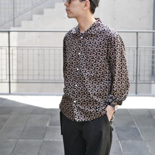KATO\' \'\' Retchiri \'\' Regular Collar Shirts & Geometric Open Collar Shirts_e0247148_17005700.jpg