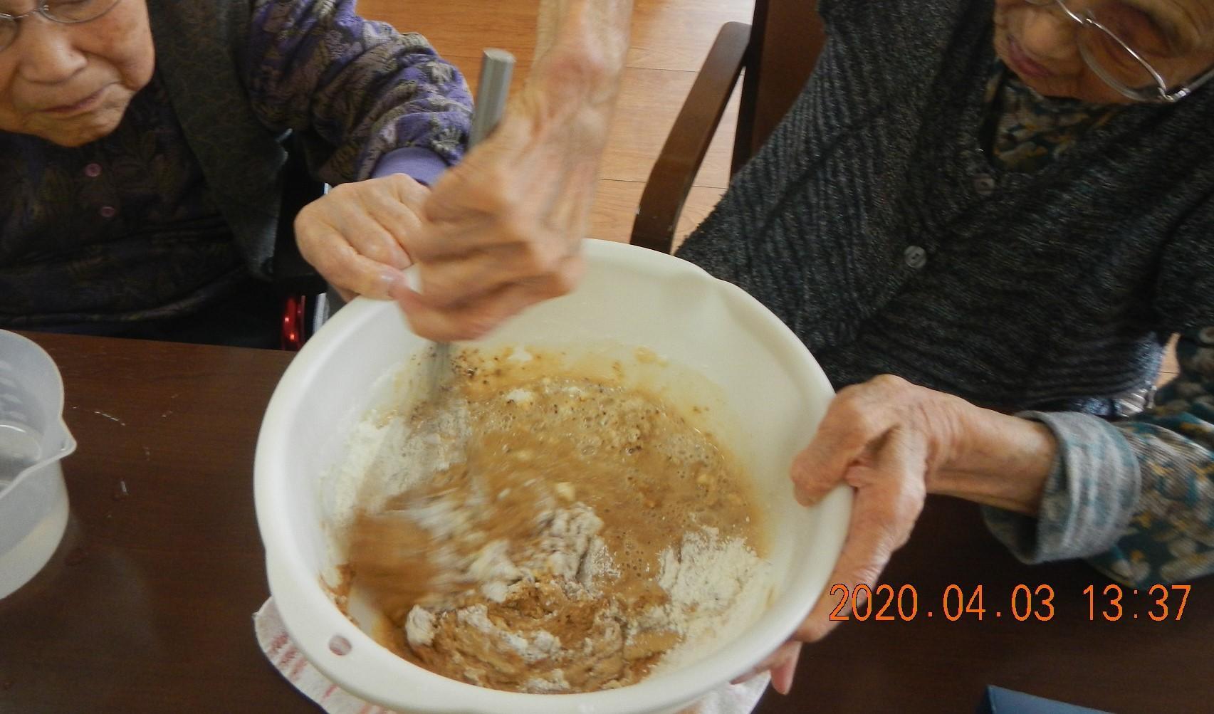 炊飯ジャーケーキ!_d0178056_17074475.jpg
