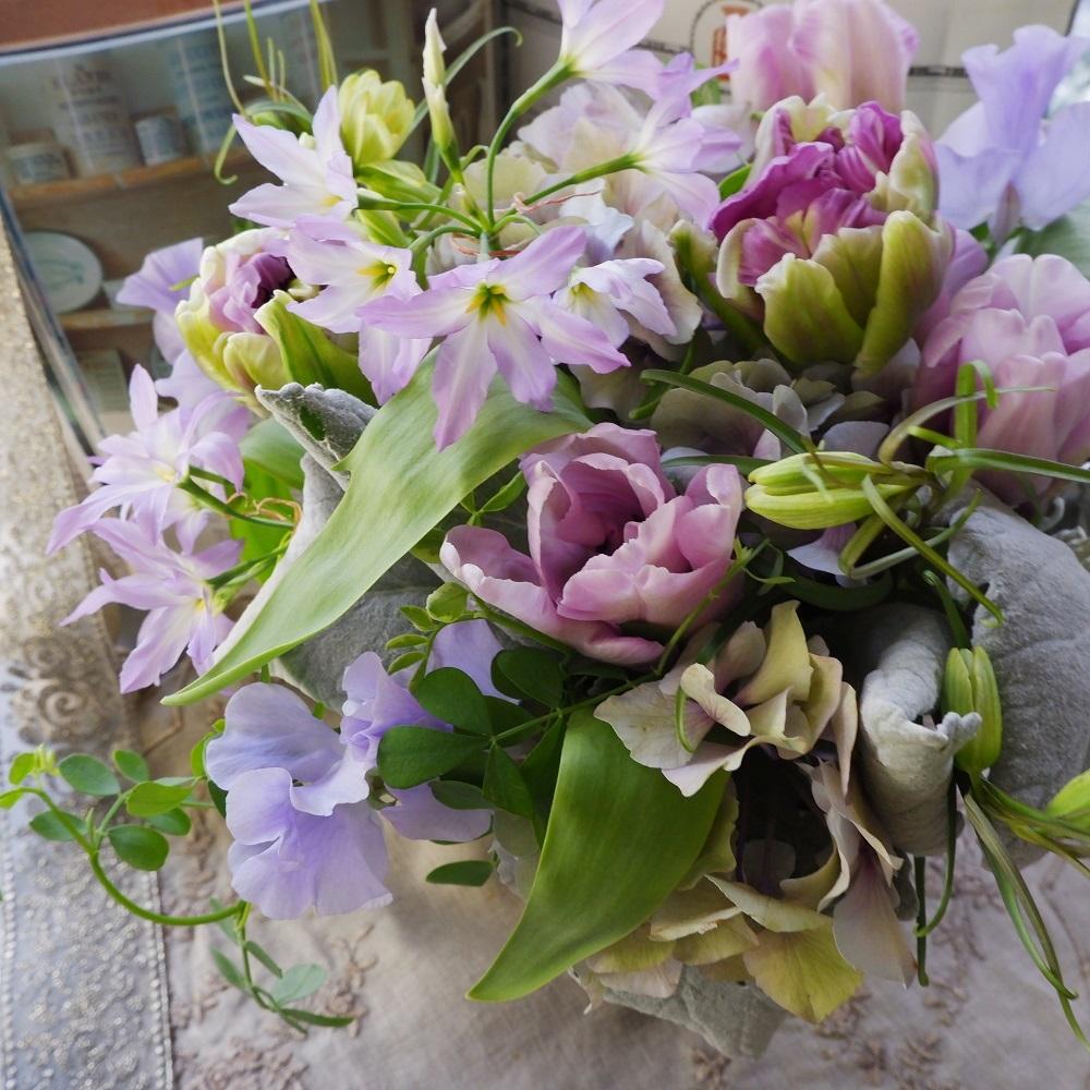 オークリーフ(紫色のチューリップ🌷)_f0049672_00180147.jpg