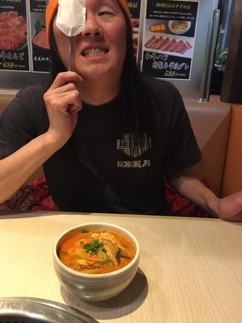 一昨日暴風花見後、焼肉さんあい志木幸町店_d0061678_16230377.jpg