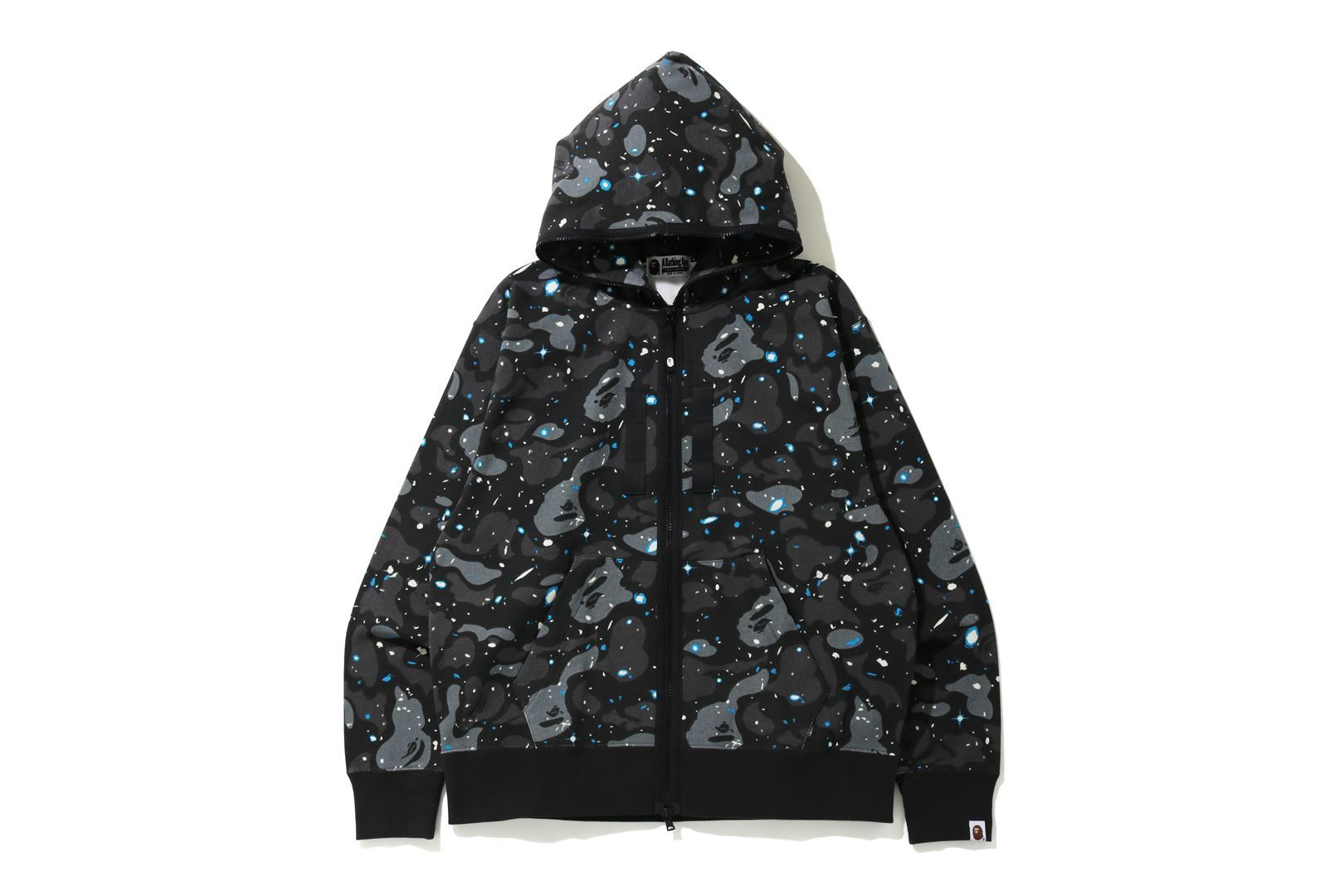 RELAXED SPACE CAMO FULL ZIP HOODIE_a0174495_15451077.jpg