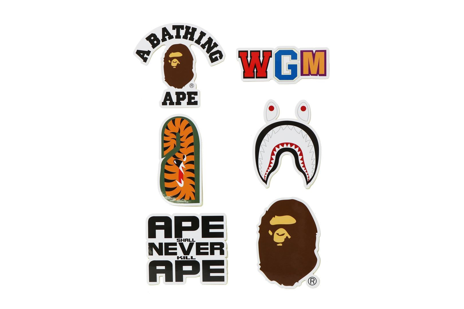 A BATHING APE® STICKER SET_a0174495_15502940.jpg