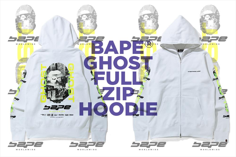 BAPE® GHOST FULL ZIP HOODIE_a0174495_16101775.jpg