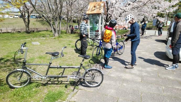 FARM友の会メンバー タンデム自転車試乗会 開催しました!_c0132901_18244803.jpg