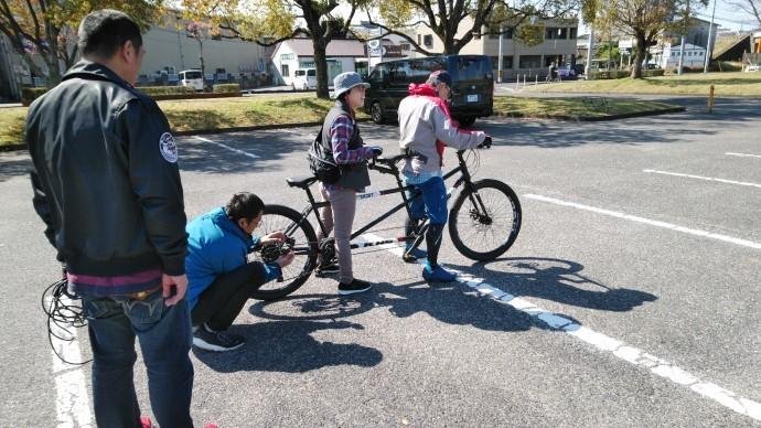 FARM友の会メンバー タンデム自転車試乗会 開催しました!_c0132901_18315420.jpg