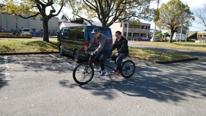 FARM友の会メンバー タンデム自転車試乗会 開催しました!_c0132901_18323247.jpg