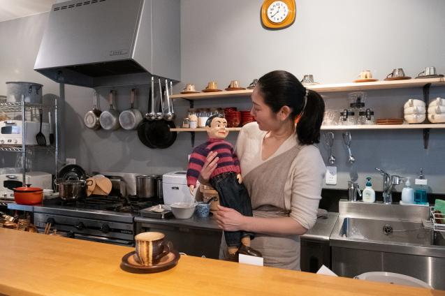 民藝と古い器のカフェ FUDAN でランチ_e0369736_10554371.jpg