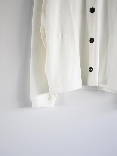 THE HINOKI Organic Cotton V-Neck Cardigan / White (LADIES SELECT)_b0139281_12391031.jpg