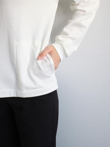 THE HINOKI Organic Cotton V-Neck Cardigan / White (LADIES SELECT)_b0139281_12392524.jpg