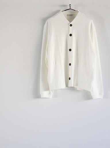 THE HINOKI Organic Cotton V-Neck Cardigan / White (LADIES SELECT)_b0139281_123929.jpg