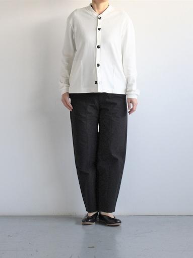 THE HINOKI Organic Cotton V-Neck Cardigan / White (LADIES SELECT)_b0139281_1256325.jpg