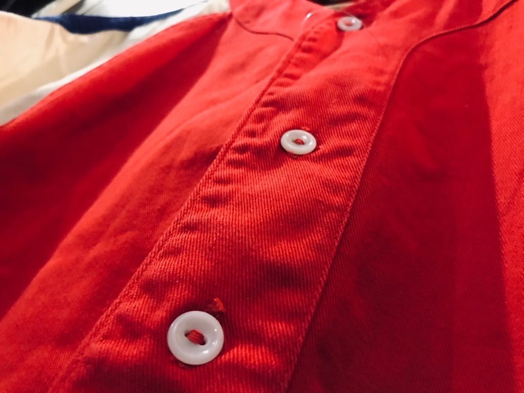 マグネッツ神戸店 4/8(水)春ヴィンテージ入荷! #2 Baseball Shirt!!!_c0078587_17182312.jpg