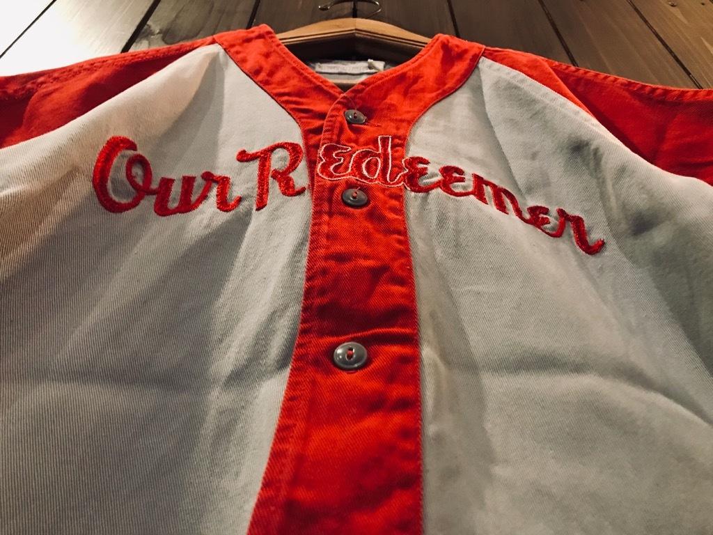 マグネッツ神戸店 4/8(水)春ヴィンテージ入荷! #2 Baseball Shirt!!!_c0078587_17350800.jpg