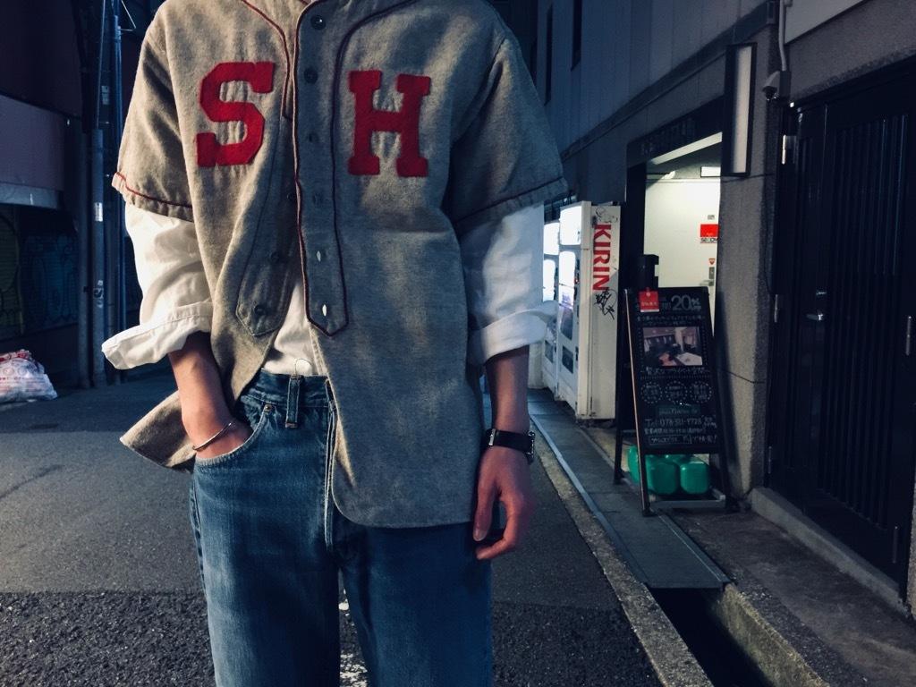 マグネッツ神戸店 4/8(水)春ヴィンテージ入荷! #2 Baseball Shirt!!!_c0078587_20281524.jpg