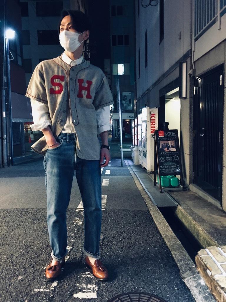マグネッツ神戸店 4/8(水)春ヴィンテージ入荷! #2 Baseball Shirt!!!_c0078587_20281677.jpg