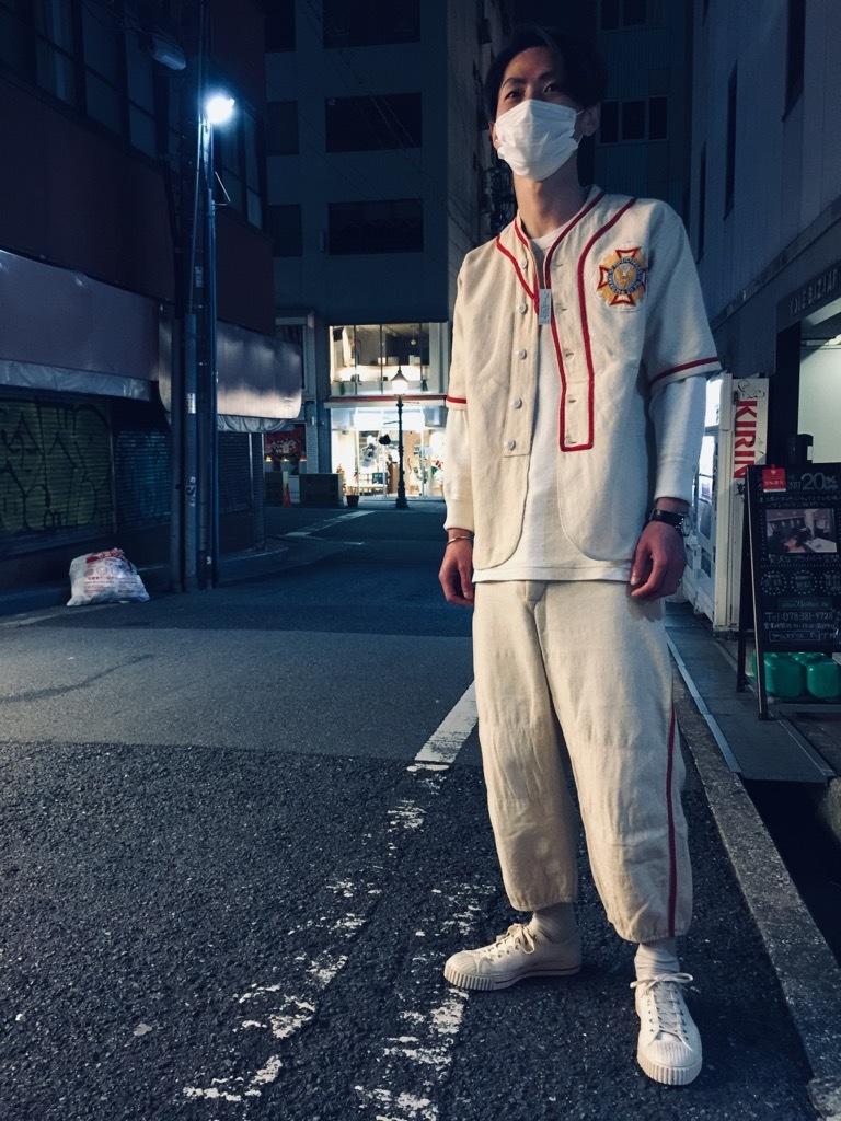 マグネッツ神戸店 4/8(水)春ヴィンテージ入荷! #2 Baseball Shirt!!!_c0078587_20301341.jpg