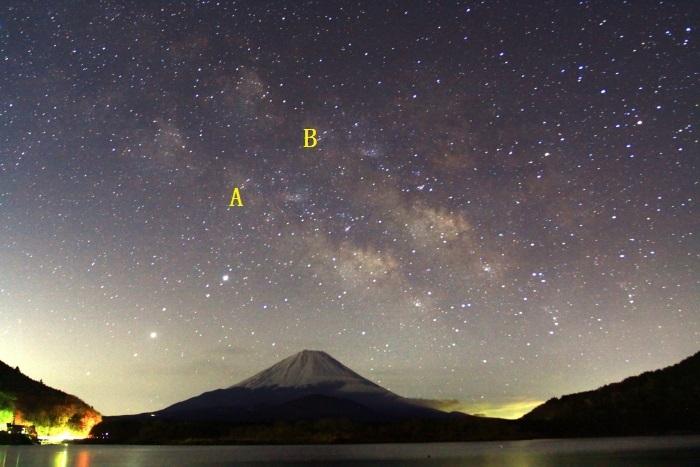 令和2年3月の富士 (27) 精進湖の天の川と富士_e0344396_00041521.jpg