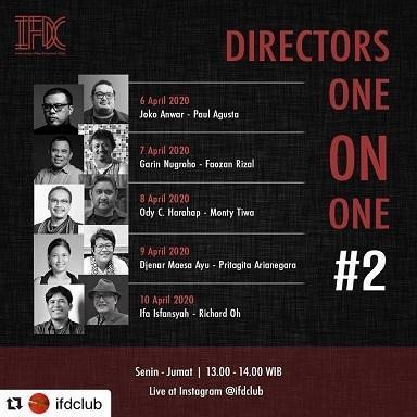 """インドネシアの映画監督対談ライブ中継 \""""Directors One on One#2\"""" @ifdclub_a0054926_15575261.jpg"""